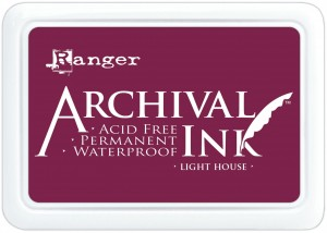Archival Ink Pad Light House