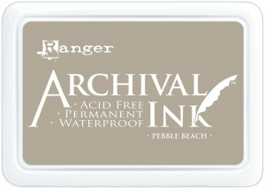 Archival Ink Pad Pebble Beach