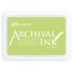 Archival Ink Pad Sea Grass
