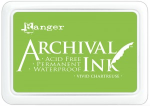Archival Ink Pad Vivid Chartreuse