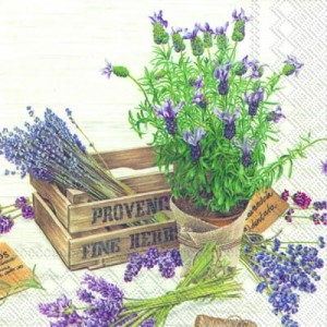 SERWETKA LUZ 33*33 IHR 567700 THE PLAVOUR OF PROVENCE