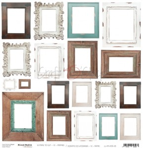 Craft O'Clock Dodatki - Mixed Media VI Frames / Ramki