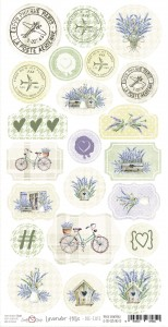 Craft O'Clock Elementy Die-Cuts -  Lavender Hills