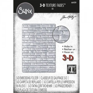 FOLDER DO EMBOSSINGU SIZZIX 3D 664259 BRICKWORK