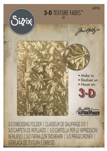FOLDER DO EMBOSSINGU SIZZIX 3D 662716 BOTANICAL