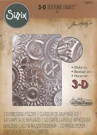 FOLDER DO EMBOSSINGU SIZZIX 3D 662715 MECHANICS