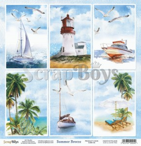 Papier ScrapBoys 30,5x30,5 Summer Breeze 06