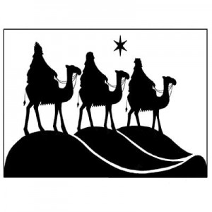 Lavinia Stamps Stempel LAV076 Three Kings