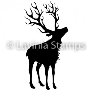 Lavinia Stamps Stempel LAV487 Reindeer (Small)