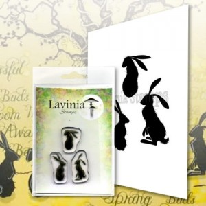 Lavinia Stamps Stempel LAV614 Wild Hares Set Small
