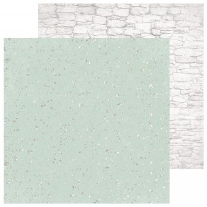 PAPIER SCRAP KAISERCRAFT 30,5*30,5 SAGE & GRACE P2310 Granite