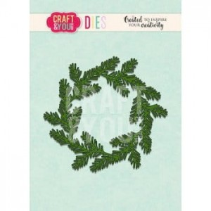 Wykrojnik CRAFT&YOU CW093 Conifer Wreath / Wianek