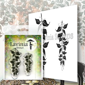 Lavinia Stamps Stempel LAV577 Berry Leaves