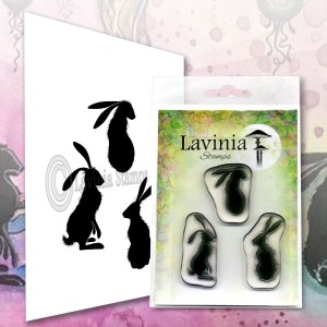 Lavinia Stamps Stempel LAV608 Wild Hares Set