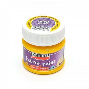 Farba do tkanin Pentart 50ml Fabric Paint Sun yellow