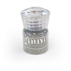 PUDER DO EMBOSSINGU NUVO 597N GLITTER SILVER MOONLIGHT
