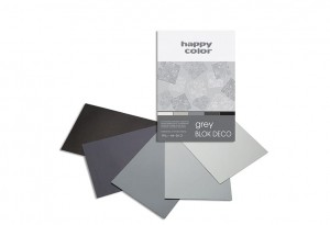 BLOK DECO HAPPY COLOR A4 170G 20K GREY 5KOL