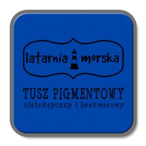 TUSZ DO STEMPLI LM PIGMENTOWY LM-T0021 NIEBIESKI
