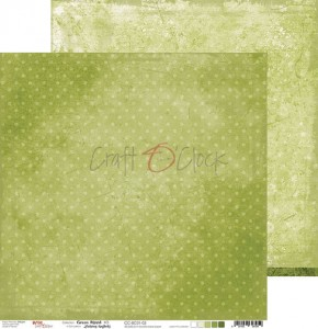 Papier scrap Craft O'Clock 30,5*30,5 BC01 Green Mood 03