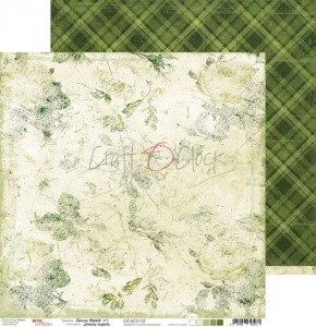 Papier scrap Craft O'Clock 30,5*30,5 BC01 Green Mood 05