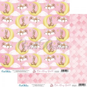 Papier scrap Craft Passion 30,5*30,5 Cute Bunny Girl 05
