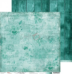 Papier scrap Craft O'Clock 30,5*30,5 BC05 Turquoise Mood 04