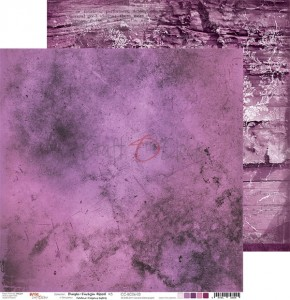 Papier scrap Craft O'Clock 30,5*30,5 BC06 Purple-Fuchsia Mood 03