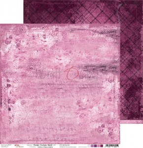 Papier scrap Craft O'Clock 30,5*30,5 BC06 Purple-Fuchsia Mood 04