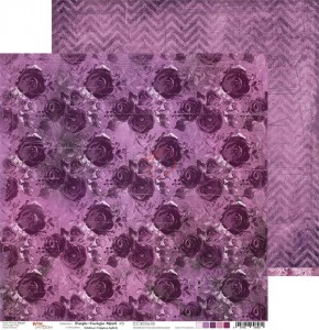 Papier scrap Craft O'Clock 30,5*30,5 BC06 Purple-Fuchsia Mood 05