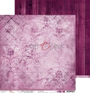 Papier scrap Craft O'Clock 30,5*30,5 BC06 Purple-Fuchsia Mood 06