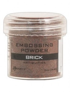 Puder do embossingu RANGER Embossing Powder 34ml EPJ37606 BRICK ANTIQUIT