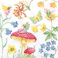 SERWETKA LUZ 33*33 HOME F. 211457 PLAYFUL FAIRIES