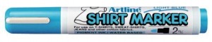 MARKER T-SHIRT ARTLINE 2MM LIGHT BLUE