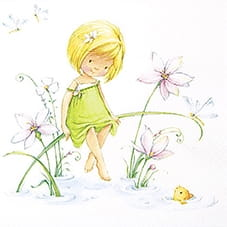 SERWETKA LUZ 33*33 HOME F. 211412 LITTLE SISTER