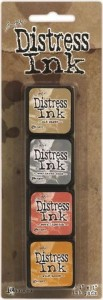 DISTRESS INK MINI PAD KIT #7