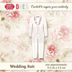 WYKROJNIK CRAFT&YOU CW022 WEDDING SUIT / GARNITUR