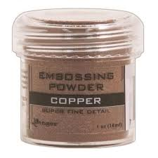 Puder do embossingu RANGER Embossing Powder 34ml EPJ36661 COPPER Super Fine Detail