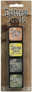 DISTRESS INK MINI PAD KIT #10