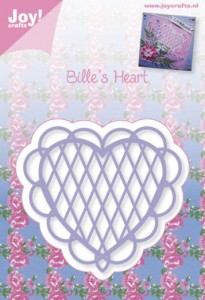 WYKROJNIK JOY! 6002/0344 BILLE'S HEARTS