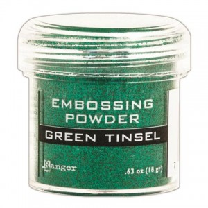 Puder do embossingu RANGER Embossing Powder 34ml EPJ41054 GREEN TINSEL