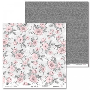 PAPIER SCRAP LL 30,5*30,5 SHABBY WINTER 02