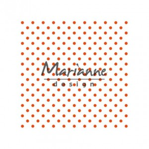 FOLDER DO EMBOSSINGU MARIANNE D. DF3447 POLKA DOTS