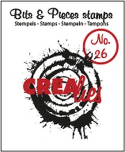STEMPEL AKRYLOWY CREALIES CLBP26 No.26 SPLASH