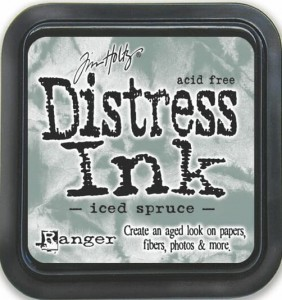 DISTRESS INK PAD ICED SPRUCE