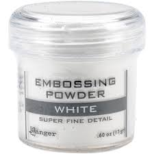 PUDER DO EMBOSSINGU RANGER EPJ36678 WHITE Super Fine Detail