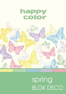 BLOK DECO HAPPY COLOR A5 170G 20K SPRING 5KOL