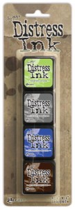 DISTRESS INK MINI PAD KIT #14