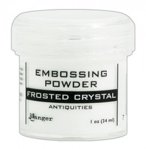 Puder do embossingu RANGER Embossing Powder 34ml EPJ37576 FROSTED CRYSTAL
