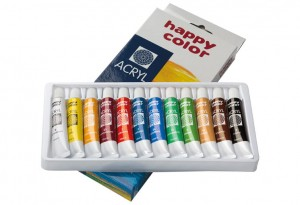 FARBY AKRYLOWE 12KOL HAPPY COLOR 12ML