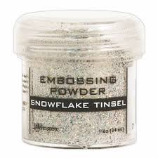 Puder do embossingu RANGER Embossing Powder 34ml EPJ37453 SNOWFLAKE Tinsel